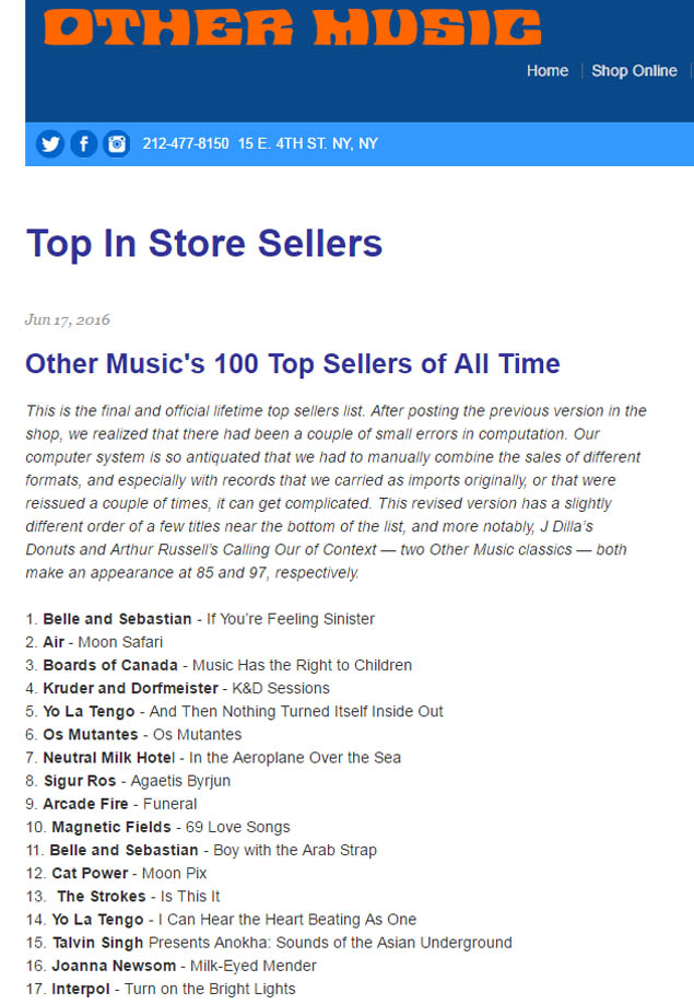 Lista dos dicos mais vendidos de todos os tempos mostra o álbum Os Mutantes, de 1968, em 6º lugar (Reprodução)
