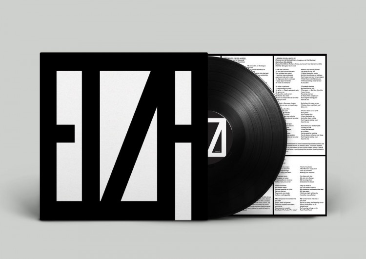 """Versão em vinil do disco """"A Mulher do Fim do Mundo"""", de Elza Soares, lançado só no Reino Unido. (Foto Reprodução)"""